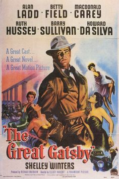 CAST: Alan Ladd, Betty Field, MacDonald Carey, Ruth Hussey, Barry Sullivan, Howard da Silva, Shelley Winters, Henry Hull, Ed Begley Sr., Elisha Cook Jr.; DIRECTED BY: Elliott Nugent; WRITTEN BY: Cyril