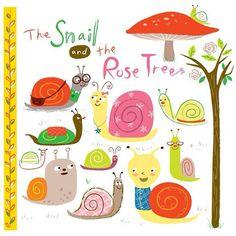 Snails by @Jannie Ho #illustration