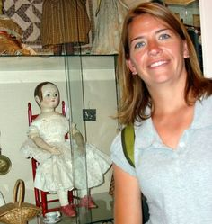 Izannah Walker doll Old Rectory Doll Mus. Worthington Ohio.