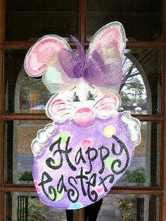 Happy Easter  Bronwyn Hanahan Original by BronwynHanahanArt, $45.00