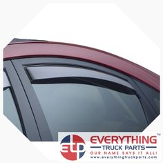 WeatherTech 72489 Front and Rear Side Window Deflector 4 Piece