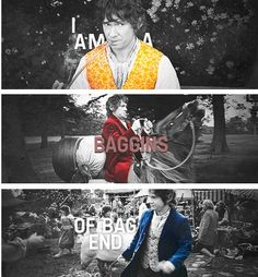 Baggins of Bag End! This quote reminds me of some cool analyses I read about the baggins family.
