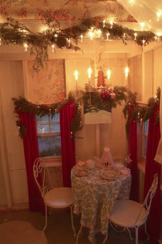 Christmas Cottage Party #christmas #party