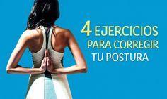 Pour que tu aies une posture parfaite et que tu n'aies plus mal au dos Fitness Del Yoga, Reto Fitness, Fitness Tips, Health Fitness, Pilates Workout, Exercise, Cardio, Fitness Tattoos, Ashtanga Yoga