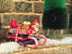 Santa Candy Sleighs