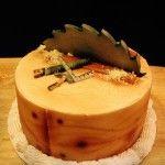 Carpenter Themed Cake