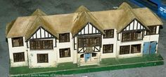Triang Toys Dolls House No.64, 1930's Antique Dolls, Vintage Dolls, Fairy Houses, Doll Houses, Dollhouse Furniture, Doll Toys, Big People, Miniatures, Mini Houses