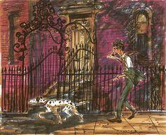 Ken Anderson - 101 Dalmatians vis dev