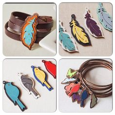 Formica laminate colors as jewelry