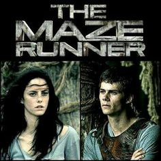 Teresa and Thomas in The Maze Runner
