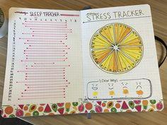 Finally completed my May stress and sleep tracker #bujo #tracker #bulletjournaling #rmbujo
