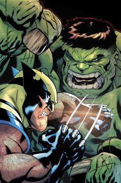 The Hulk and Wolverine