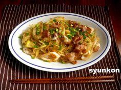【簡単!!】お店の味!ねぎ塩だれ焼きそば | 山本ゆりオフィシャルブログ「含み笑いのカフェごはん『syunkon』」Powered by Ameba