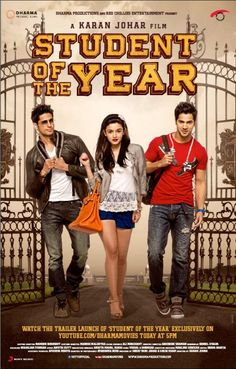 New Student Of The Year poster