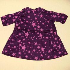 Vêtements pour poupées et poupons de 36 à 42 cm : robe en molleton