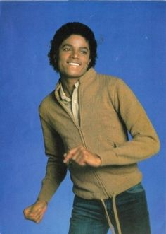 Michael Jackson before all the plastic surgery.