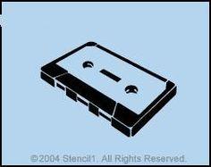 cassette stencil.