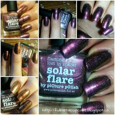 Fullmetal Cupcake Picture Polish, Lost In Space, Swatch, Cupcake, Nail Polish, Nails, Beauty, Finger Nails, Beleza