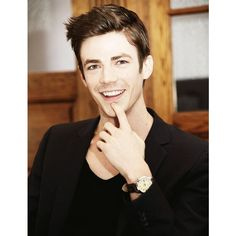 Grant Gustin THE FLASH ❤ liked on Polyvore featuring grant gustin