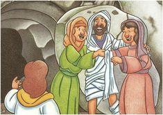 Aula Bíblica Pre-primarios Jesus e Lazaro 006 Christian Crafts, Bible Stories, Princess Zelda, Disney Princess, Bible Lessons, New Testament, Childrens Books, Disney Characters