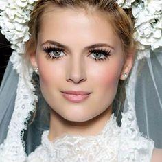 Art of bridal beauty by aradia Bridal Beauty, Bridal Makeup, Wedding Makeup, Natural Glowy Makeup, Bridesmaid Hair Half Up, Vintage Curls, Elegant Bun, Beauty Hacks Video, Winged Eyeliner