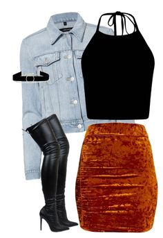 """""""Bad thing fine as hell"""" by xposed-nothings on Polyvore featuring J Brand and Anissa Kermiche"""