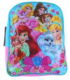"Disney Princess Palace Pets 14"" Backpack - 'Cute Pets' Disney Interactive Studios http://www.amazon.com/dp/B00UO2CVYW/ref=cm_sw_r_pi_dp_K-6Svb01RG9TJ"
