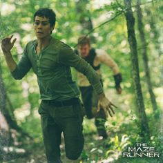 New still from The Maze Runner - Ben and Thomas