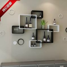 15 Awesome Living Room Wall Shelving For Your Home Storage Ideas Hallway Furniture, Modern Bedroom Furniture, Home Decor Furniture, Rustic Wall Shelves, Wall Shelves Design, Wall Shelving, Wooden Shelves, Wall Design, Floating Shelf Decor