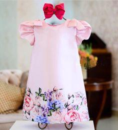 NIÑAS Kids Dress Wear, Dresses Kids Girl, Dresses For Teens, Cute Dresses, Kids Outfits, Flower Girl Dresses, Baby Girl Fashion, Toddler Fashion, Kids Fashion