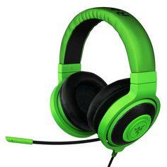 RAZER headphones with mic >:D