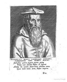 Stanislaus Hosius, from Duodecim Cardinalium pietate, doctrina, rebusque gestis maxime illustrium ... - Theodor Galle