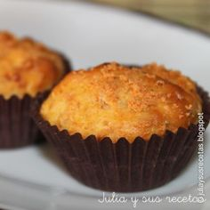 Muffins de chorizo y zanahoria