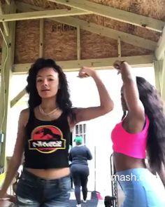 Danse Twerk, Twerk Dance, Dance Sing, Cool Dance, Dance Moves, Just Dance, Hip Hop Dance Videos, Dance Music Videos, Dance Choreography Videos