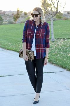 How To Style Plaid Two Ways - Part Two + The Weekly Style Edit Link Up | Middle of Somewhere