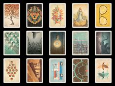 Really want some of these cards :) New DKNG Postcard Set!