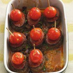 Spaanse tapas-burgertjes uit de oven
