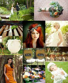 A Garden Inspired Wedding