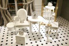 Mini furniture jewelry display