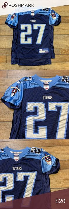2ff046e1787 Eddie George Tennessee Titans NFL Kids Jersey 🔥🔥 Perfect Condition Kids  Size Small Eddie George