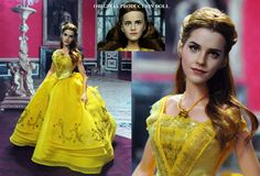 Doll Repaint Emma Watson Beauty and Beast Belle by noeling on DeviantArt