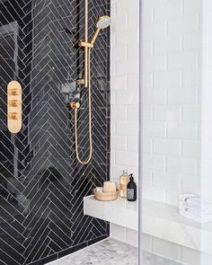 "3,869 Likes, 126 Comments - Lonny Magazine (@lonnymag) on Instagram: ""We want to know! Would you ever use brass in your shower??  or ? // #regram // Design by…"""