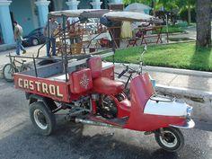 Cezeta Scooter - Trike