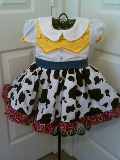 Toy Story 3 Jessie Dress Cow Girl Up 2 LEFT by Heartfeltcostumes, $50.00