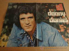 GRAN PÓSTER DE DANNY DANIEL. 83 X 55 CM REVISTA EL MUSIQUERO. AÑOS 70