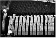SM Forgotten Songs Abandoned Piano Pedals black and white  Urbex Urban https://www.etsy.com/listing/399309777 #URBEX #PIANO