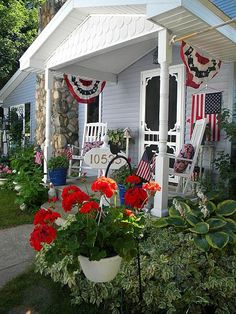 My All American Front Porch  -