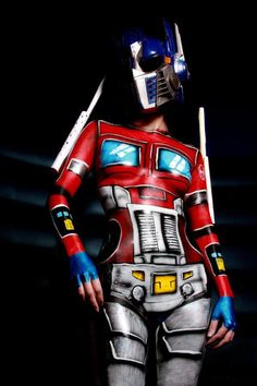Optimus Prime body paint by R Whirlwind