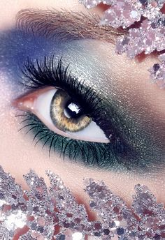 Don't be afraid to mix eye shadow colours just stick to the same tones. Jewel tones work best for darker eyes and bright colours work great for lighter eyes colours such as blue.