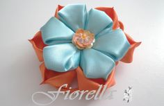 Video tutorial #2 Flor Kanzashi